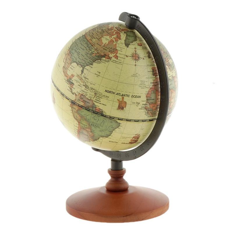 Ancien Globe Terrestre 18Eme