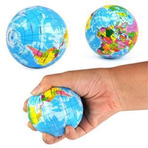 Balle Mousse Globe Terrestre