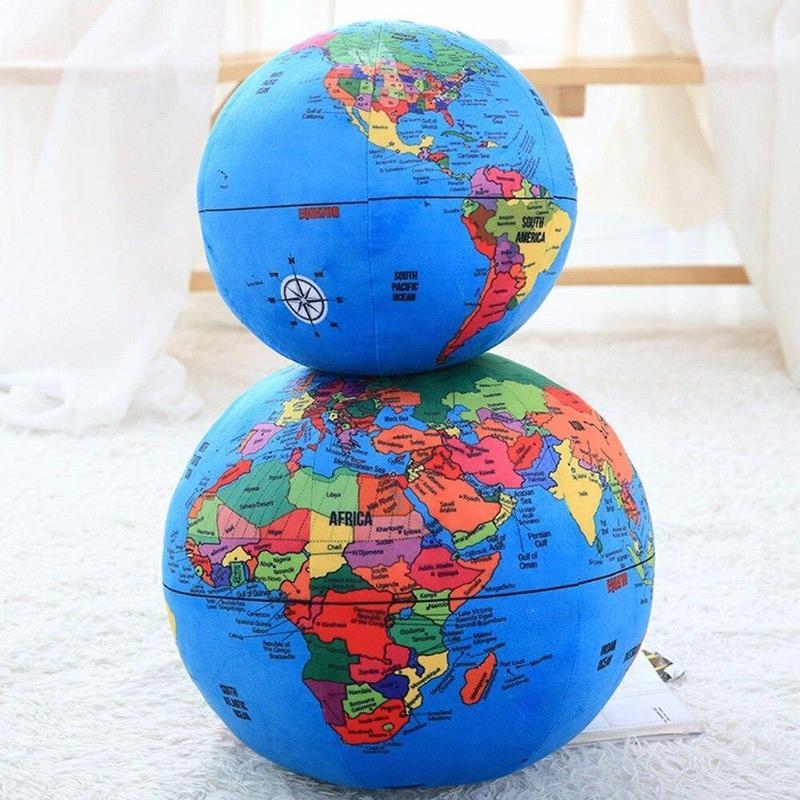 Ballon Avec Globe Terrestre