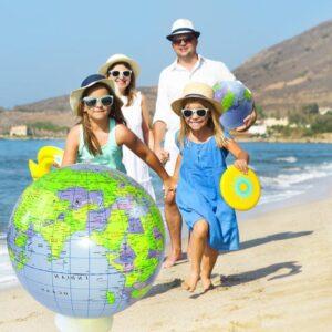 Ballon De Plage Gonflable Globe Terrestre