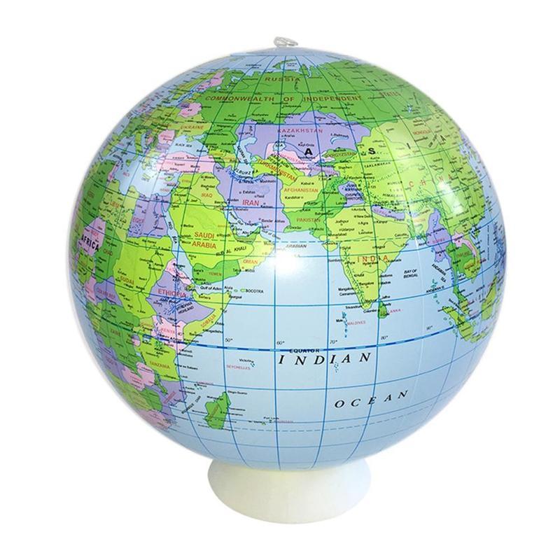 Ballon Globe Terrestre 40 Cm