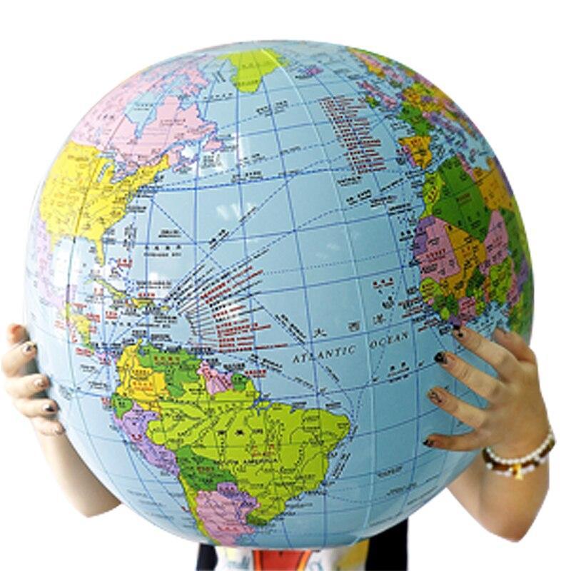 Ballon Globe Terrestre Diametre 60Cm