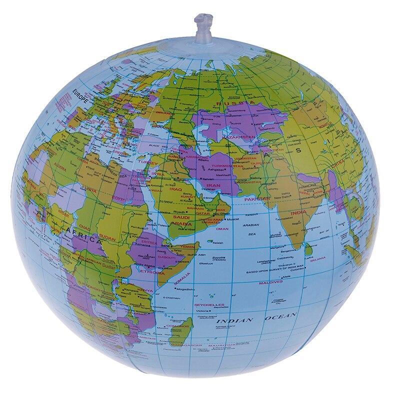 Ballon Globe Terrestre Gonflable 40 Cm
