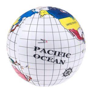 Ballon Globe Terrestre Plage