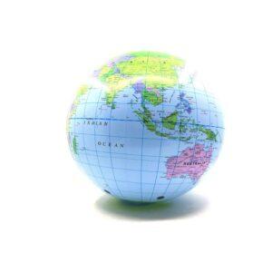 Ballon Globe Terrestre Plastique
