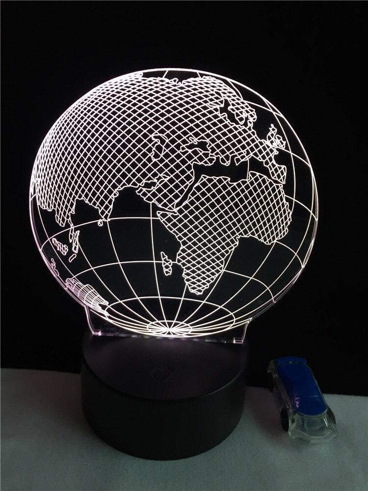 Boule Noel En Globe Terrestre