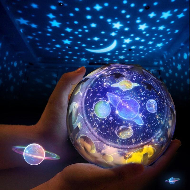 Globe Lumineux Terrestre Demontable