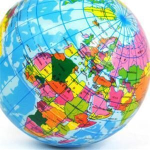 Globe Terrestre 18 Mois