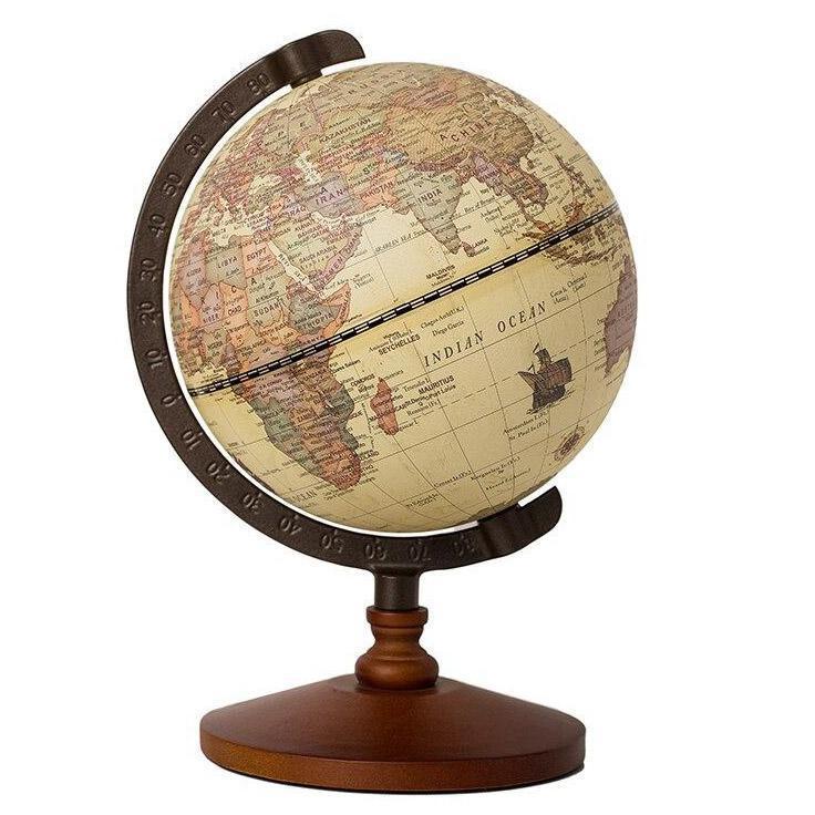 Globe Terrestre 1950