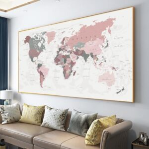Globe Terrestre 2D