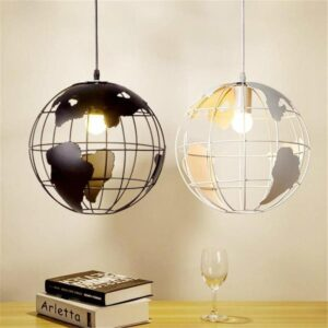 Globe Terrestre 30 Cm Lumineux