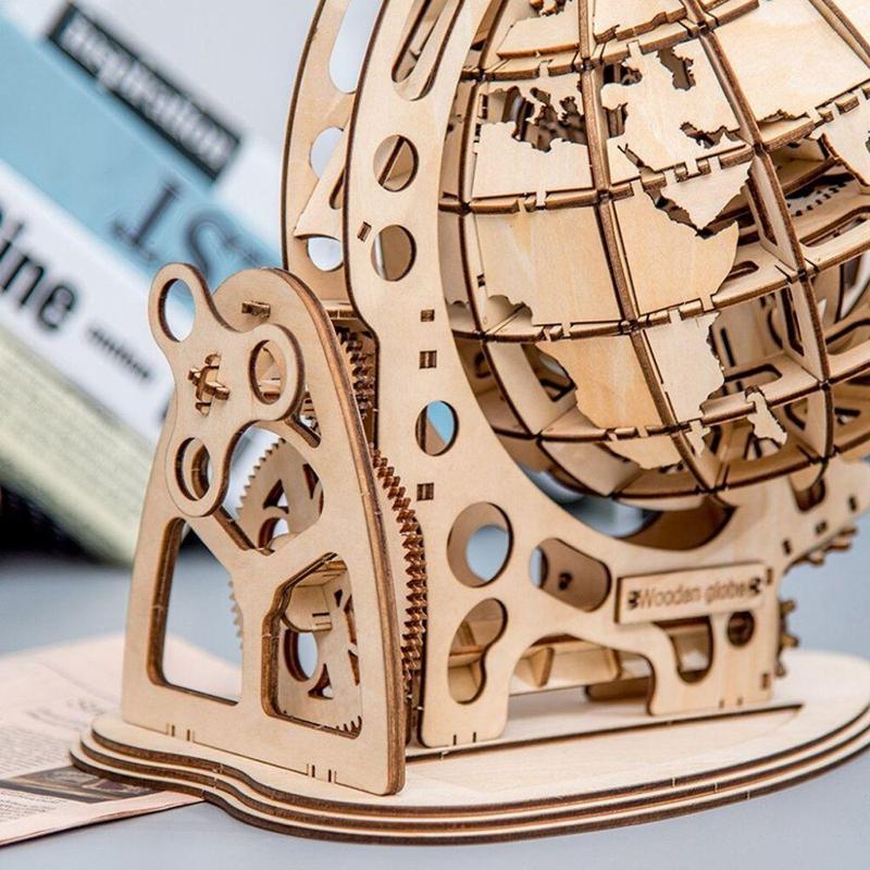 Globe Terrestre 3D A Construire
