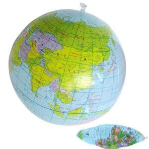 Globe Terrestre 40 Cm De Diametre