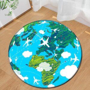 Globe Terrestre 60Cm