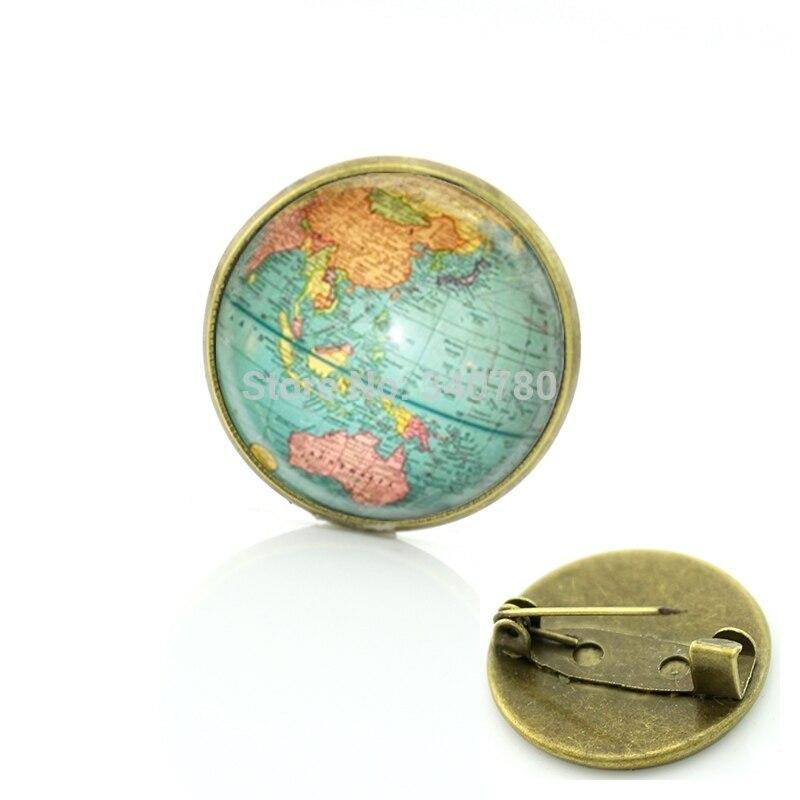 Globe Terrestre A Epingler