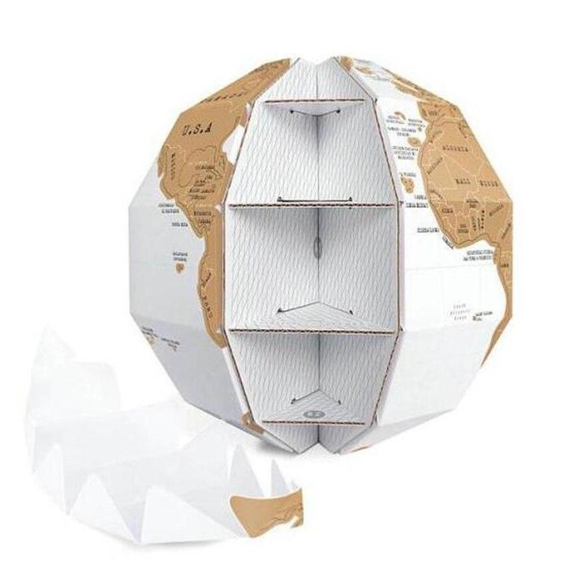 Globe Terrestre A Gratter
