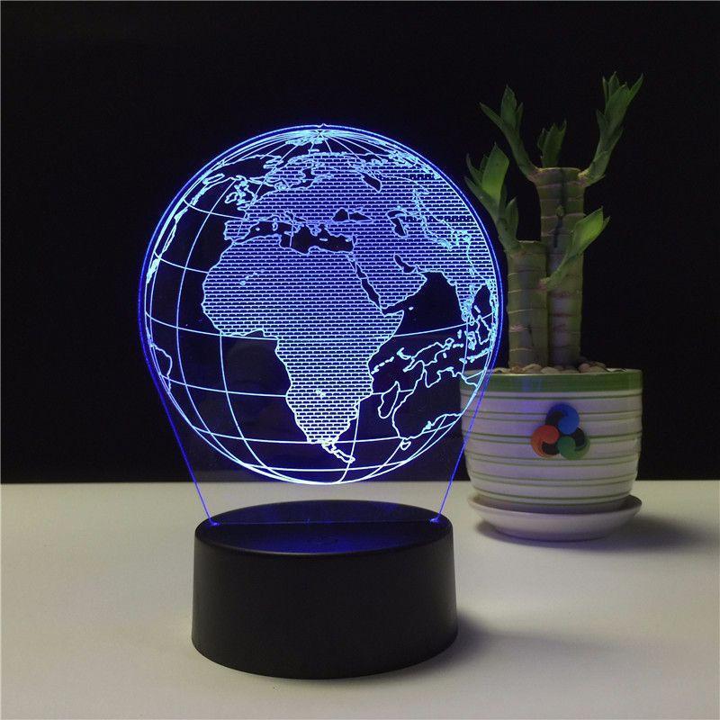 Globe Terrestre Afrique 3D