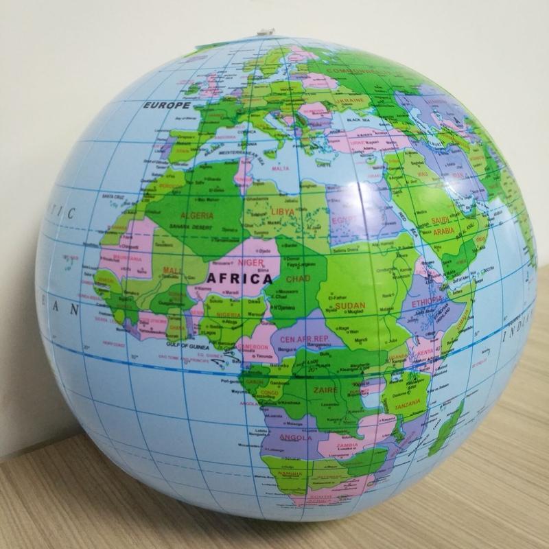 Globe Terrestre Afrique