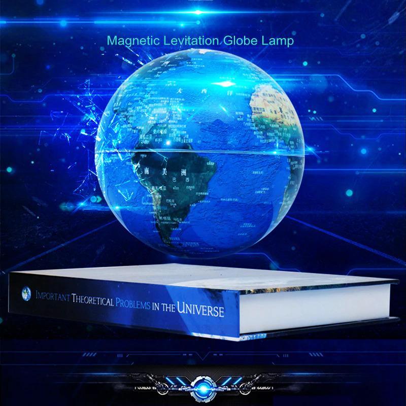Globe Terrestre Aimante Lampe Futuriste