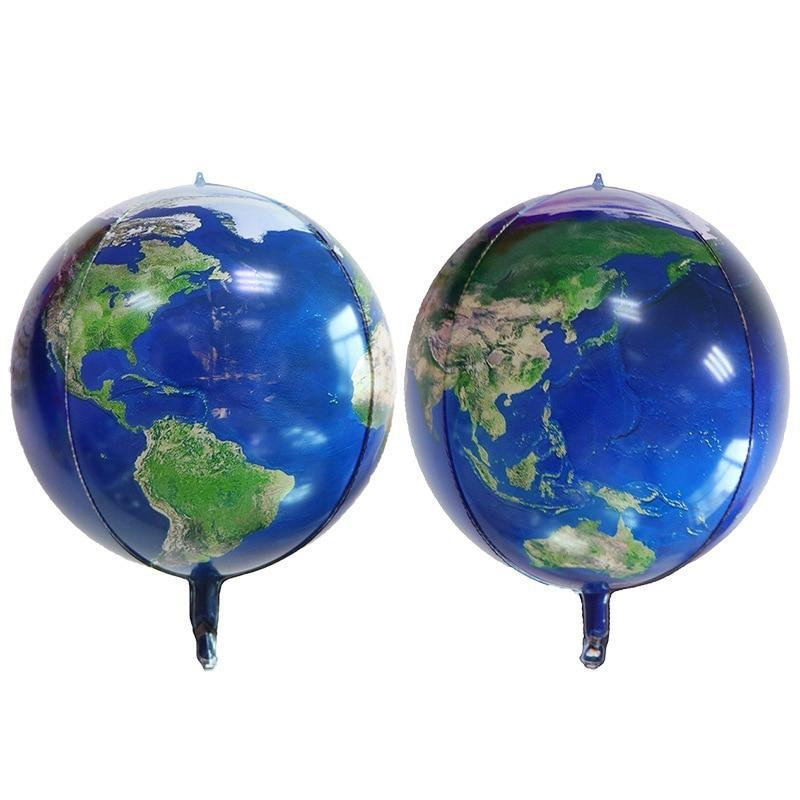 Globe Terrestre Alu