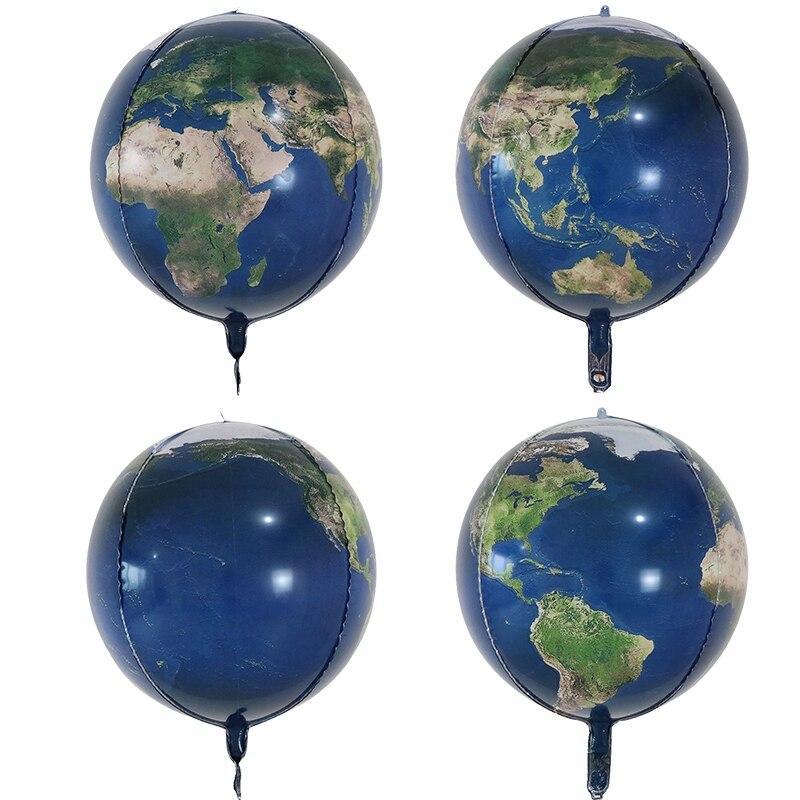 Globe Terrestre Aluminium
