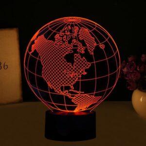 Globe Terrestre Amerique