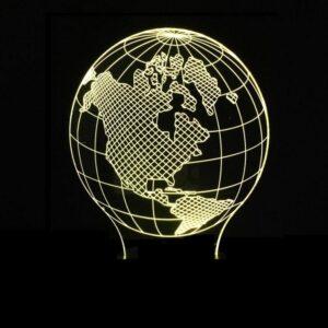 Globe Terrestre Amérique