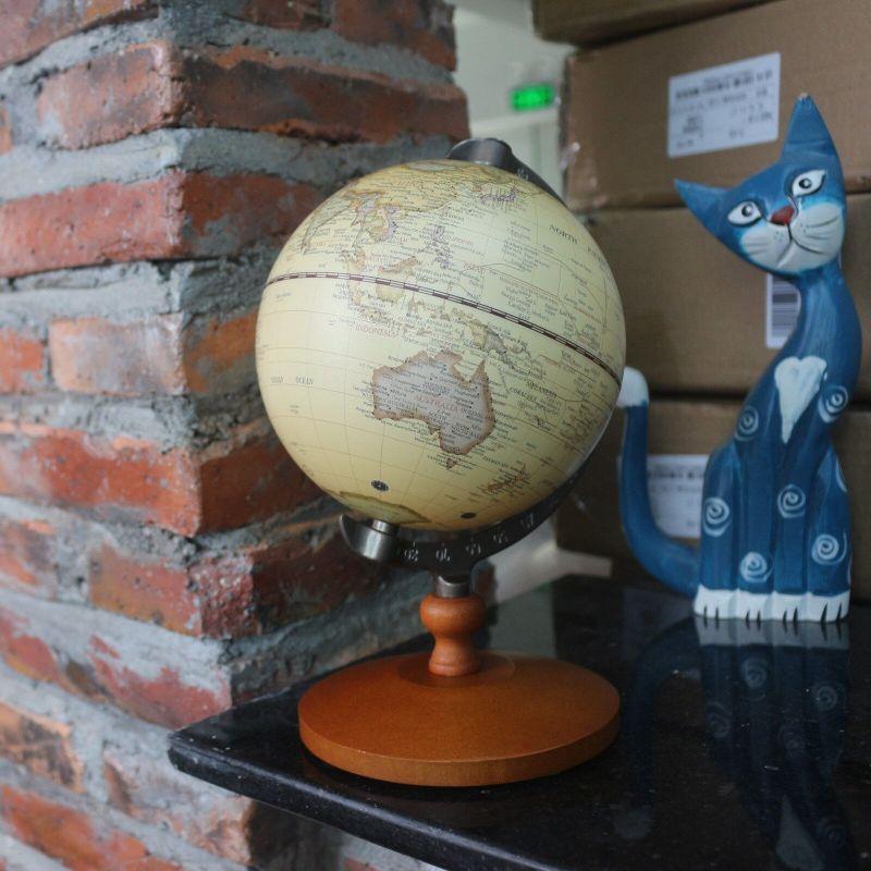 Globe Terrestre Ancien Antiquités