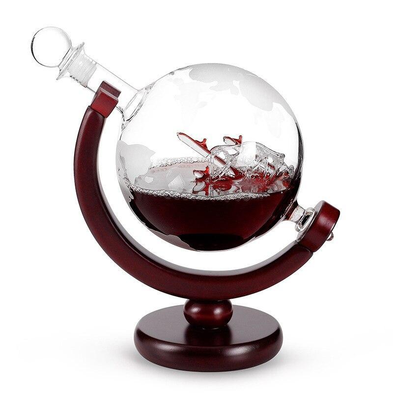 Globe Terrestre Ancien Bar