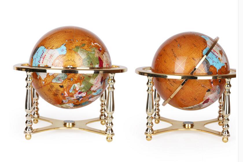 Globe Terrestre Ancien Grand