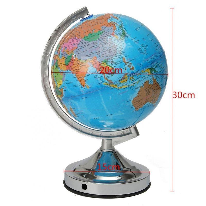 Globe Terrestre Ancien Lumineux