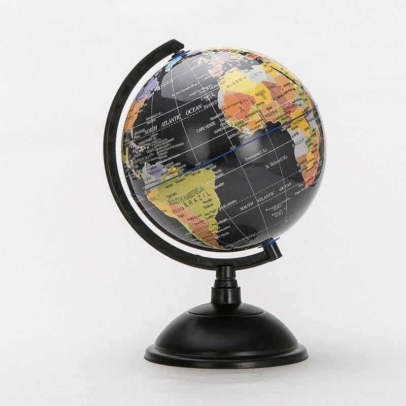 Globe Terrestre Ancien Noir