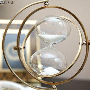 Globe Terrestre Antique Laiton