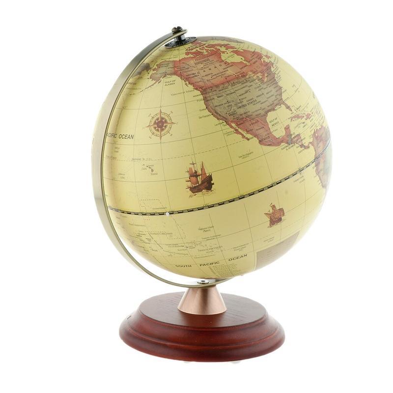 Globe Terrestre Antique Lumineux