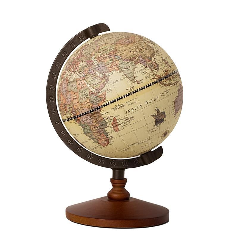 Globe Terrestre Antique Vintage
