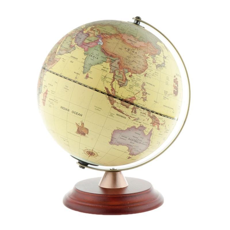 Globe Terrestre Art Deco