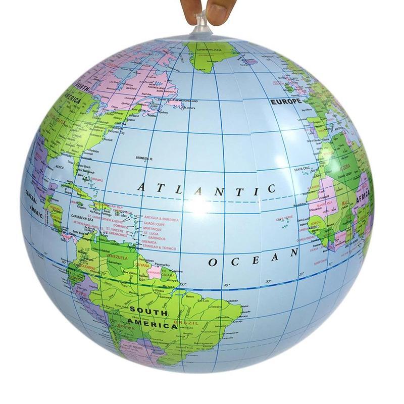Globe Terrestre Atlantique