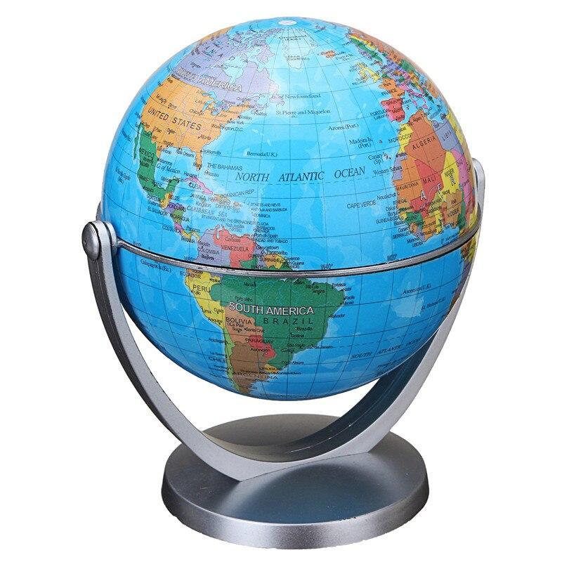 Globe Terrestre Avec Lignes Imaginaires