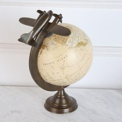 Globe Terrestre Avion