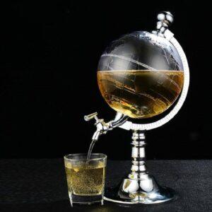 Globe Terrestre Bar Moderne