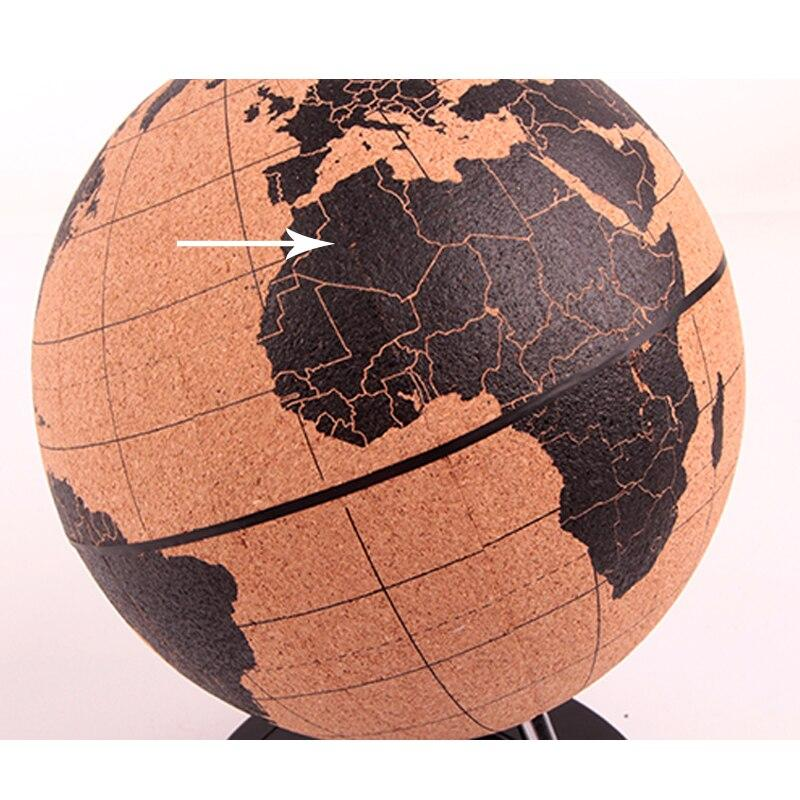 Globe Terrestre Bois Ancien