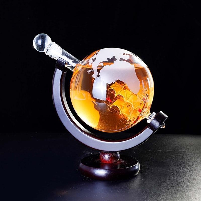Globe Terrestre Bouteille