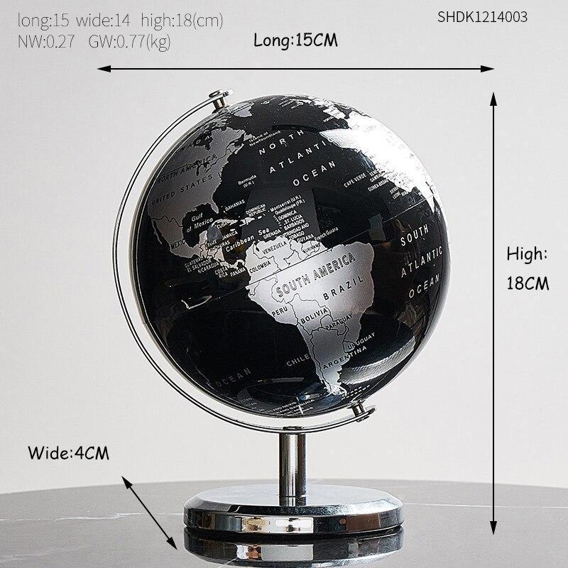 Globe Terrestre De Bureau