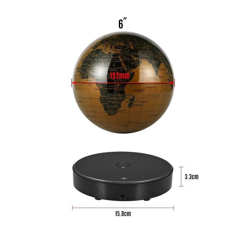 Globe Terrestre Design Flottant