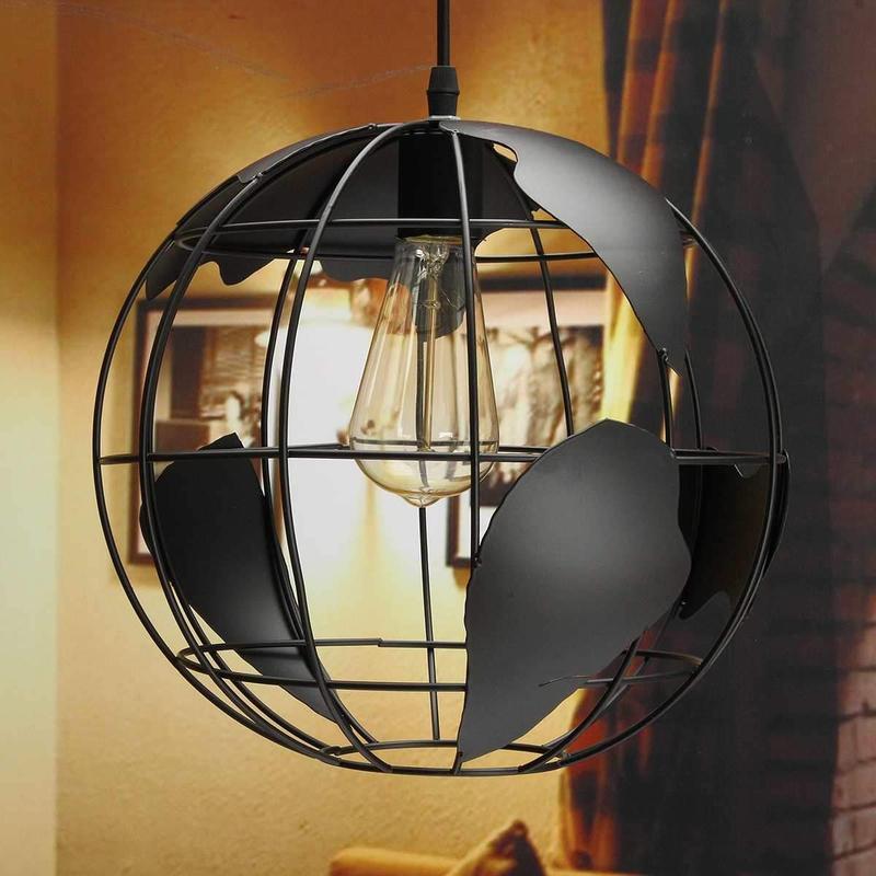 Globe Terrestre Design Noir