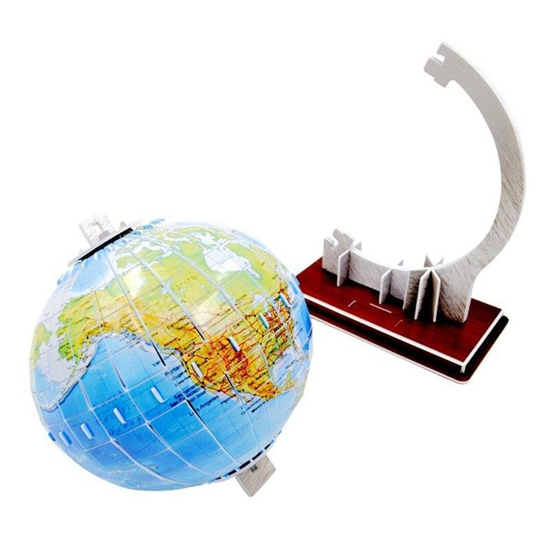 Globe Terrestre Dessin 3D
