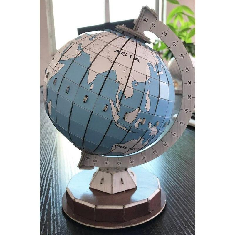 Globe Terrestre Dessin En Couleur