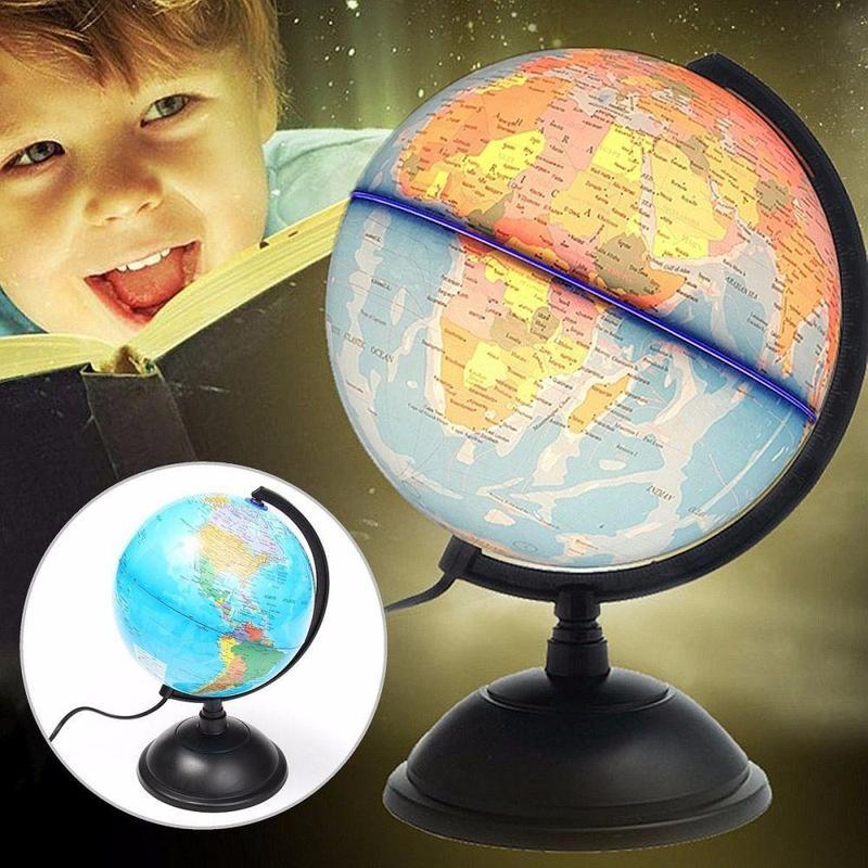 Globe Terrestre Eclairé