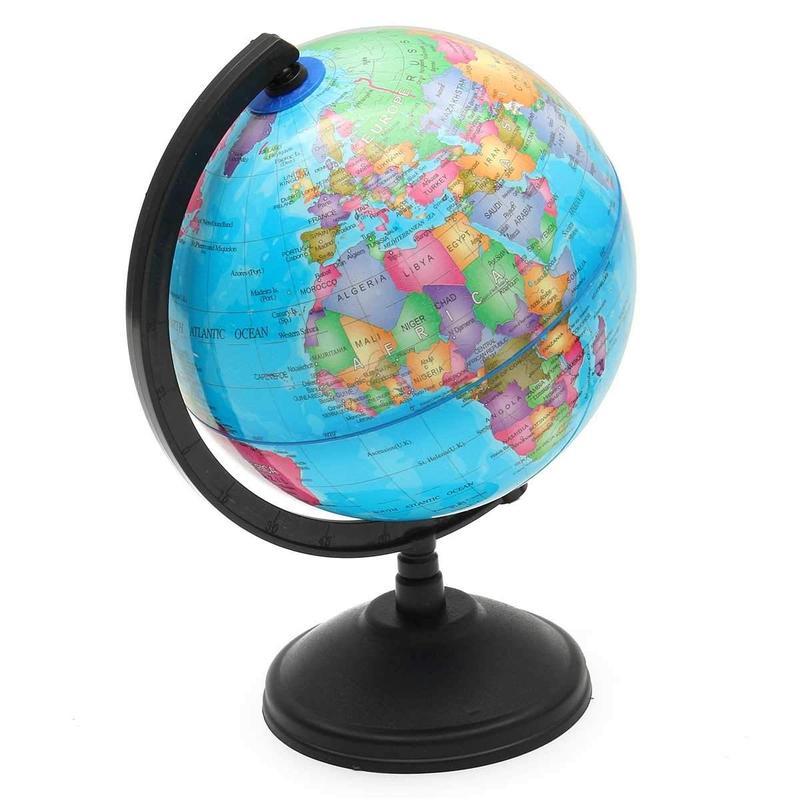 Globe Terrestre Éclairé