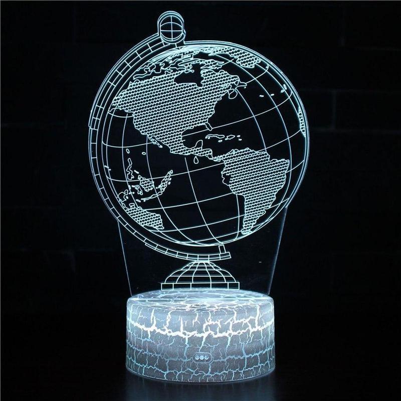 Globe Terrestre En 3D